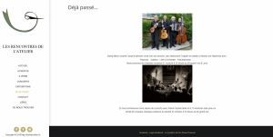 Atelier site wordpress