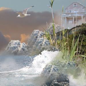 brume -photomontage