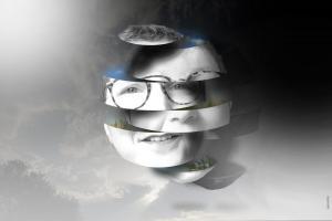 tranché - photomontage