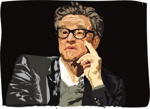 Colin Firth peinture numérique